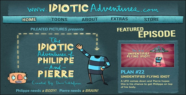 idiotic-adventures-philippe-pierre-hand-drawn