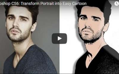 Photoshop Tutorial Turning An Image Into A Cartoon in 2 minutes