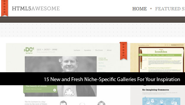 15 Fresh Web Design Inspiration Showcase Web Sites