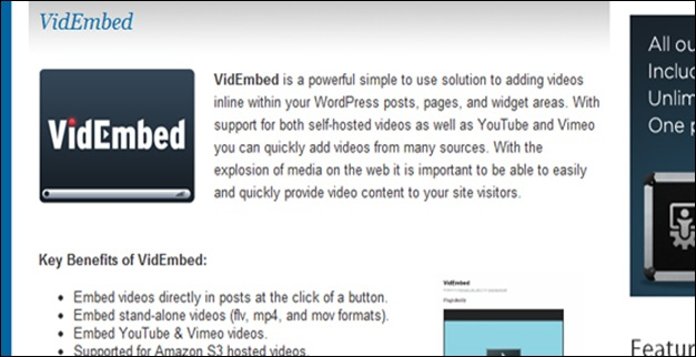 vid-embed-wordpress-plugin