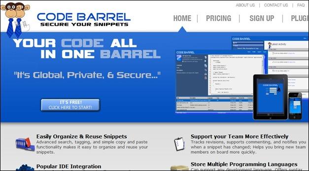 Code Barrel