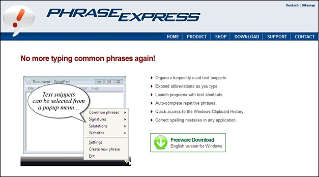 Phrase Text