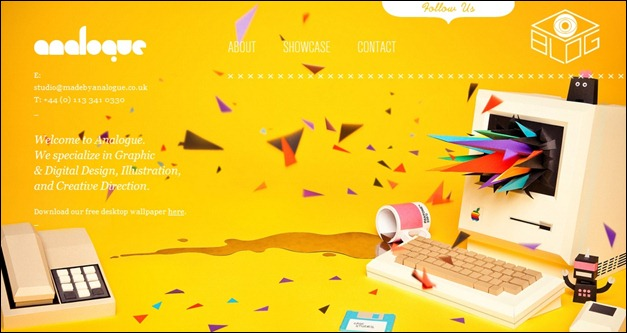40 Examples of Beautiful Yellow Website Designs