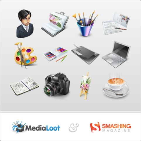 Designers Portfolio Icon Pack