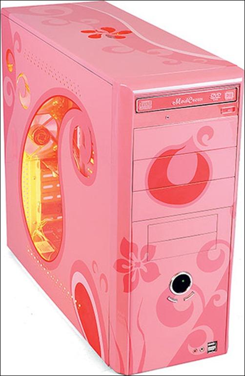 Pink Computer Case