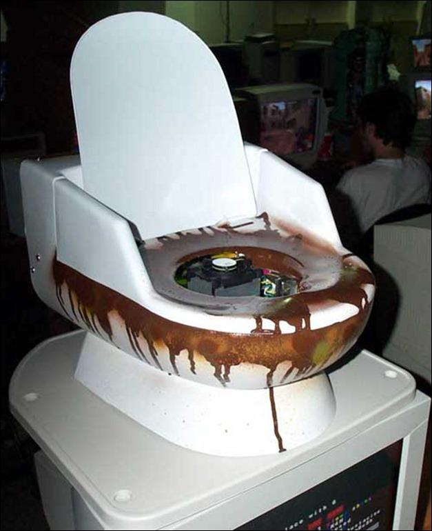 Toilet PC Case mod