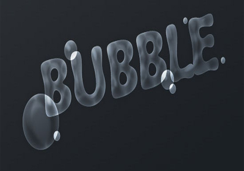 Bubble Text effect