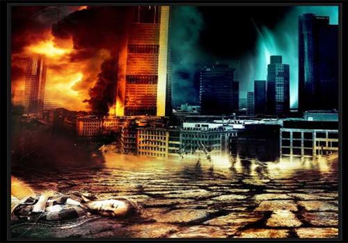 Sci-Fi Urban City Scene