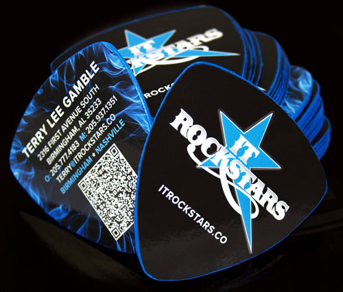 Guitar Tab Card