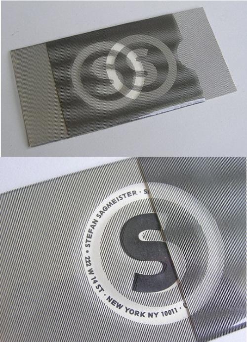 Hidden Text Illusion Card