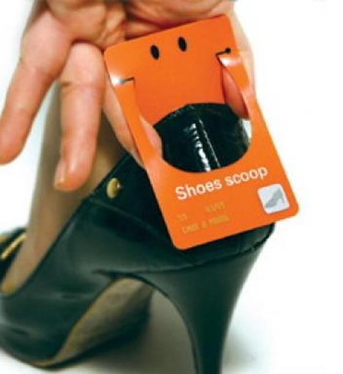 Shoe Horn Card