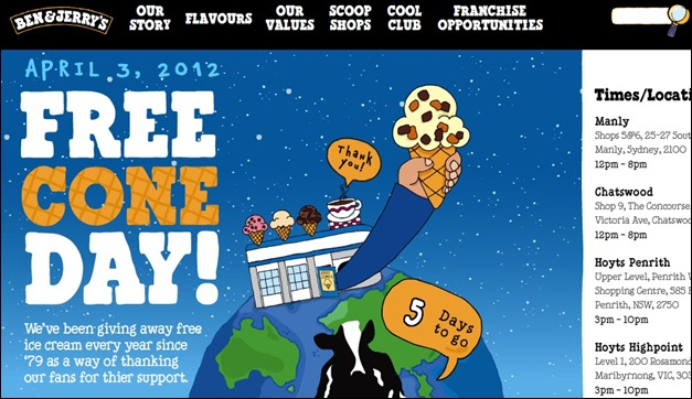 ben and Jerry's australia