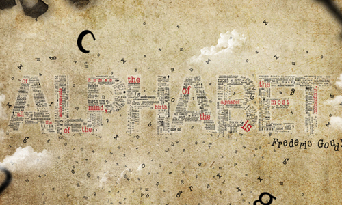 Typographic Concept Poster tutorial
