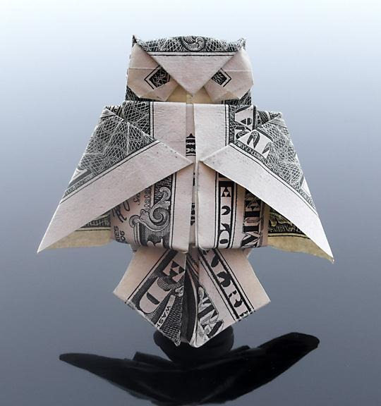 Money Origami, Flower Edition: 10 Different Ways to Fold a Dollar ... | 576x540