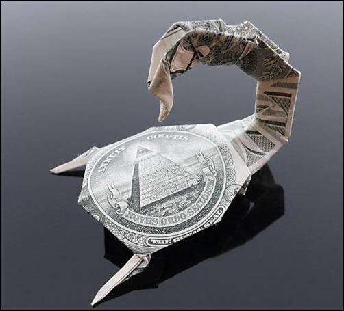 dollar-bill-scorpion
