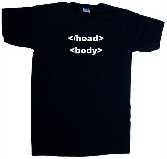 html-geek-t-shirt