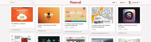 40+ Interesting Pinterest Boards for Designers