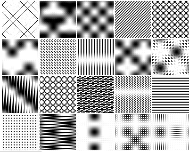 Seamless Pixel Patterns