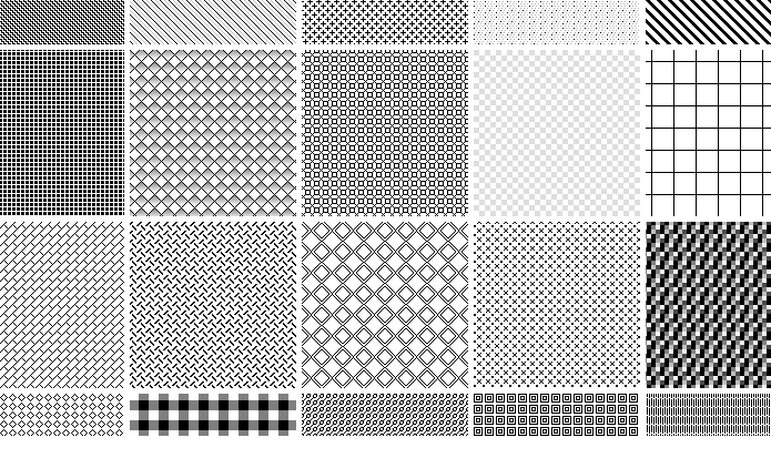40 Ready To Grab Free Photoshop Pixel Patterns Tripwire Magazine Inspiration Photoshop Grid Pattern