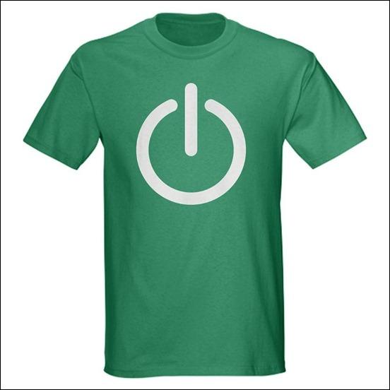 power-button-geek-t-shirt