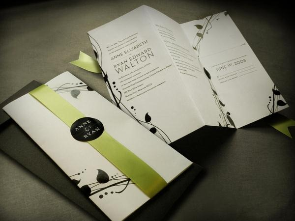 35 Stylish and Creative Wedding Invitation Designs for Inspiration ...