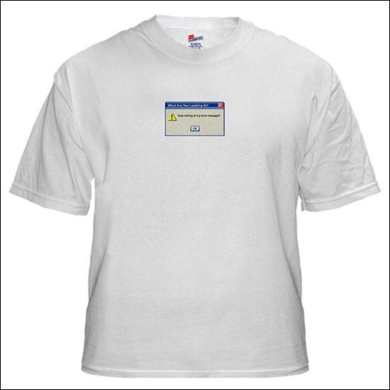 windows-error-message t-shirt