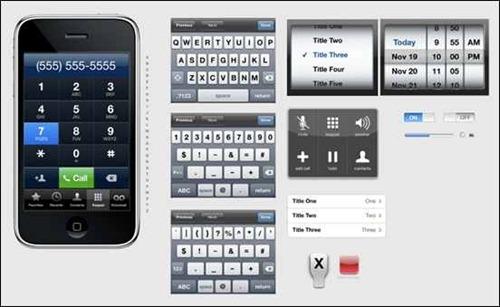 iphone-psd-vector-kit