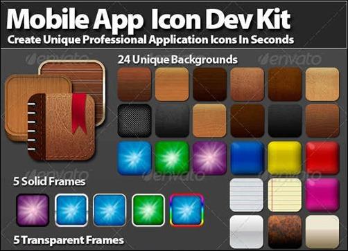 mobile-app-icon-development-kit