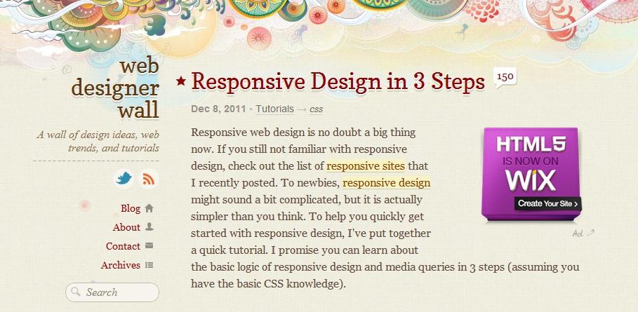 Responsive Design in 3 Steps