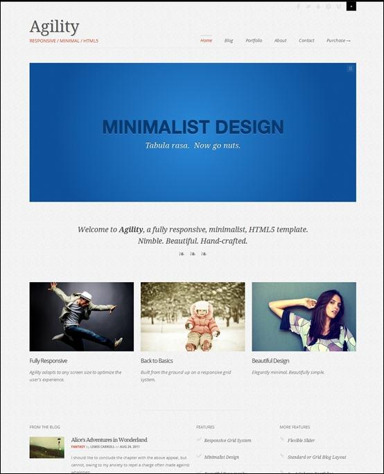 agility-html-template