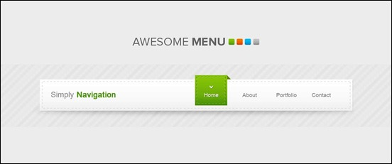 awesome-menu