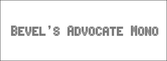 bevel's-advocate-mono