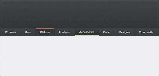 free-navigation-menu-psd