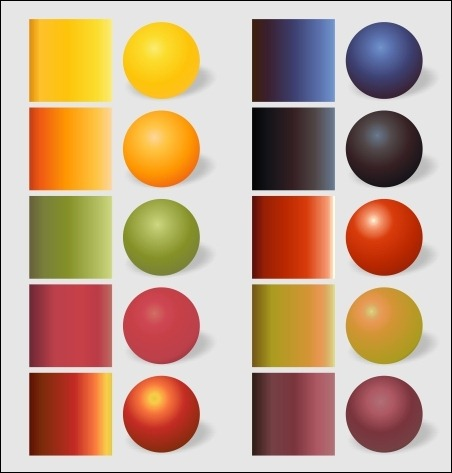 fruits-gradients
