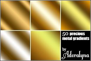 golden-metal-gradients