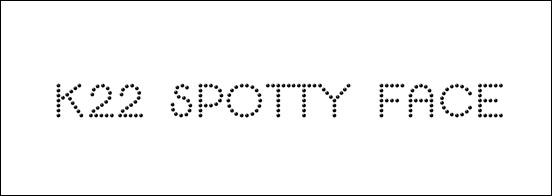k22-spotty-face