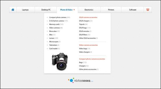 mega-menu-free-navigation-psd