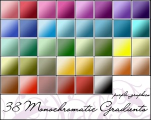 monochromatic-gradients