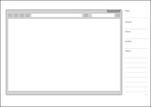Web-sketching-template