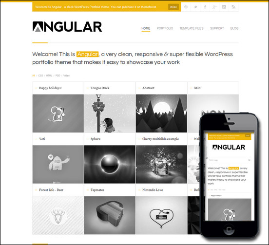 angular-responsive-portfolio-wordpress-theme