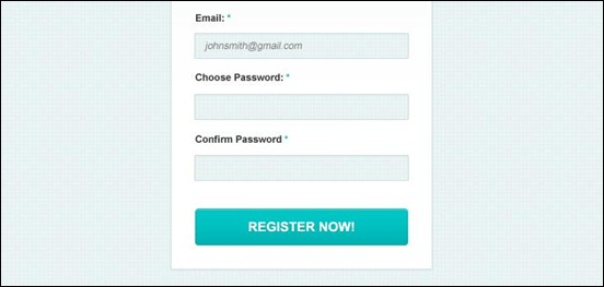 clean-and-simple-sign-up-form
