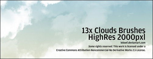 cloud-brushes-high-resolution
