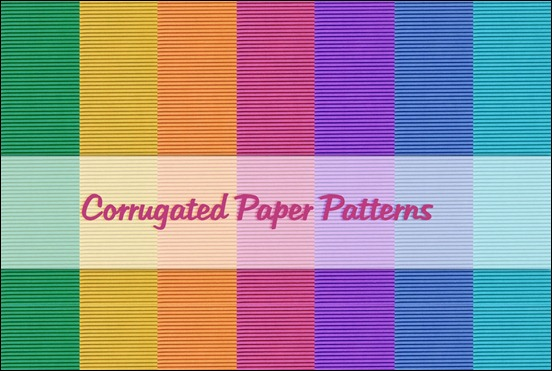 corrugated-paper-patterns