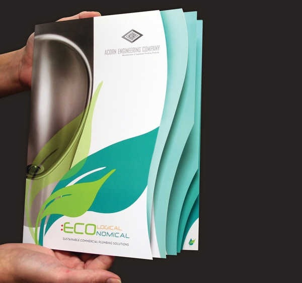 30 Creative Die Cut Brochure Designs For Inspiration