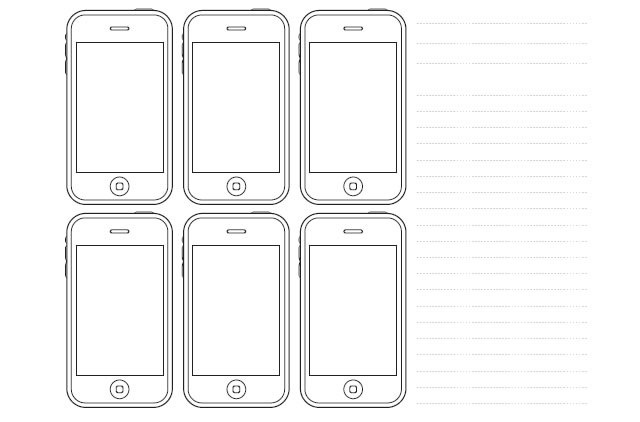 20 Free Printable Sketching And Wireframing Templates Tripwire