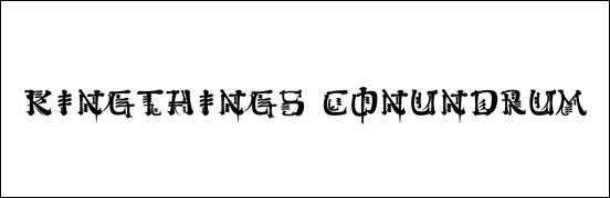 kingthings-conundrum