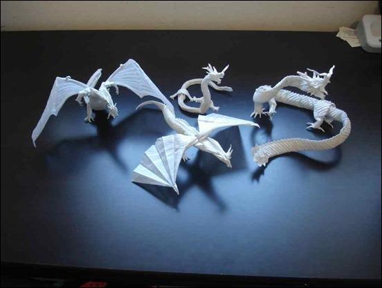 mega-complex-origami-dragons