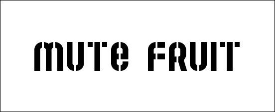mute-fruit