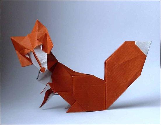 origami-fox