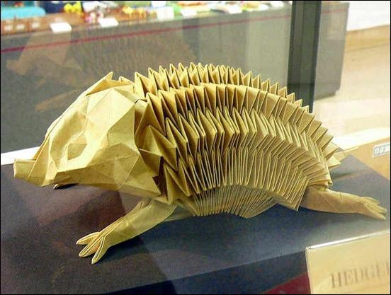 origami-hedgehog